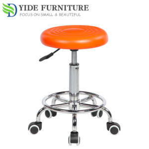Wondrous Morden Leisure Leather Swivel Bar Stool With Wheels Gmtry Best Dining Table And Chair Ideas Images Gmtryco