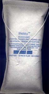 16unit Activated Clay Desiccant in Sewn Polyester (PET) Non-Woven Bag pictures & photos