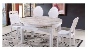 China Extendable Dining Sets Extension Dining Table Solid Wood Dining Chair 1 4 1 6 Wooden Table Wooden Chair Marble Top Glass Top Round Table Dining Desk 2019 China Extendable Dining Sets Extendable Dining Table