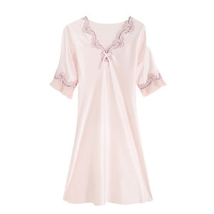 Wholesale Fashion 100%Silk Sleepwear Pajamas