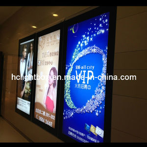A0 Aluminium Profile Display Board Light Box Led