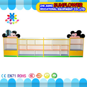 Mickey Modeling Toys Rack, Wooden Toy Cupboard, House Modeling Toys Rack (XYH12131-4)