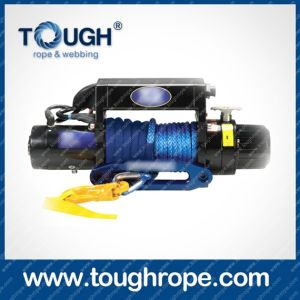 Electric Winch Dyneema Winch Rope Winch (ATV and SUV Trunk Winch) 4.5mm-20mm with Softy Eyelet G80 Hook, Mounting Lug, Lug, Thimble