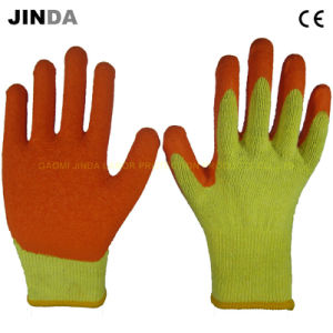 Latex Coated Industrial Work Gloves (LS009) pictures & photos