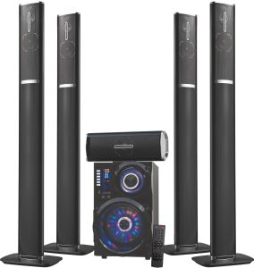 5.1 Home Theater System DJ Karaoke Multimedia Bluetooth Speaker