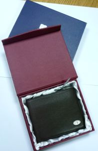 Folded Paper Box for Wallet Rigid Box Paper Box