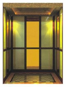 Mirror Stainless Steel Passenger Elevator for Home