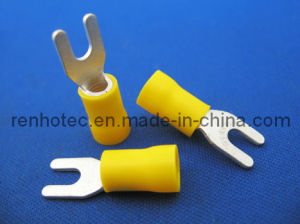 Naked or Insulated Fork Terminal Connector, Fork Type pictures & photos