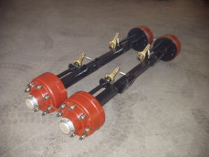 Square Tube 8t Farm Trailer Rear Axle pictures & photos