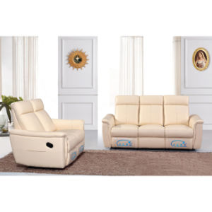 Simple Design Recliner Leather Function Sofa 6043 pictures & photos