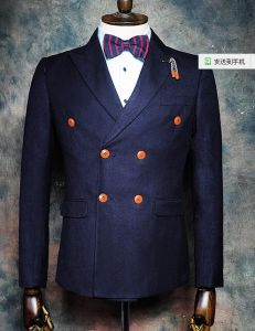 2016 New Arriving Top Quality 100% Wool Men Slim Fit Blazer (ST216-11)