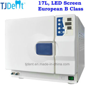 17L European B Class LED Dental Autoclave (CAL-17L-B-LED) pictures & photos