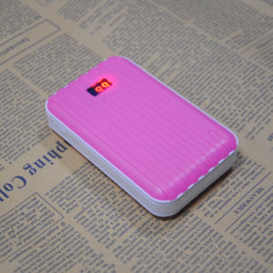 4, 500mAh Mobile Power Charger for Promotional Gifts, 5V DC/1A Input