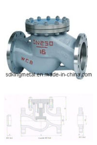 API Cast Steel Lift Check Valves pictures & photos