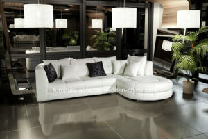 Sweet Home Hot Small Soft Corner Leather Sofa (S039)