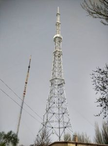 Telecom Tower, GSM Tower (with Ladder, Platfrom, Fence)