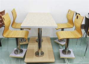 Modern Cafe/Restaurant Dining Table and Chair Set (FOH-CXSC66) pictures & photos
