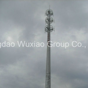 Roof Top Housetop Steel Telecommunication Tower pictures & photos