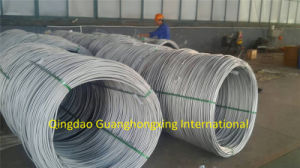 5.5-14mm, SAE1008, SAE1010, Low Carbon Steel Wire Rod
