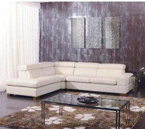 White Color Corner Leather Sofa Sets