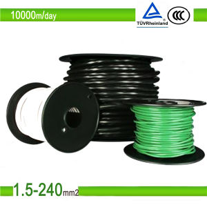 TUV Single/Twin Core PV Copper Power DC Solar Cable 4mm2 pictures & photos