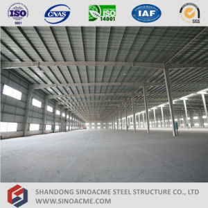 Sinoacme Pre-Engineered Steel Structure Workshop Building pictures & photos