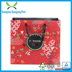 Fcs Cosmetic Paper Bag with Rope Handle Made in China pictures & photos