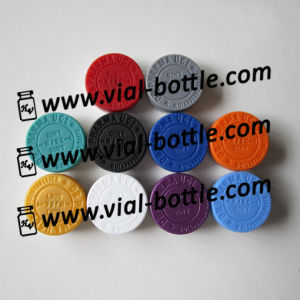 Custom Flip off Seal Multi Color 10 Kinds Debossed Logo on The Plastic Tops pictures & photos