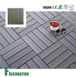 Wood Composite Interlocking Decking Tiles