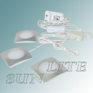 3.5W 4W 4.5W Fancy Square LED Cabinet Lighting (CE, RoHS)
