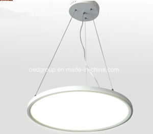 100-240V CE RoHS 2015 Unique Design Suspended LED Round Panel Light with 2 Years Warranty pictures & photos