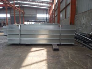 Welded H Steel Profile /H Section Steel pictures & photos