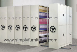 Steel Movable Book Shop Storage Cabinet / Compact Shelving (T4B-04BST) pictures & photos