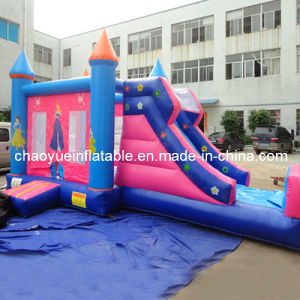 Commercial Grade Inflatable Princess Combo Castle for Amusement Park pictures & photos