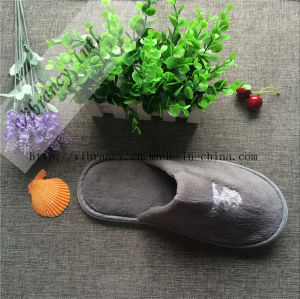 Disposable Coral Fleece Hotel Slipper/Hotel Amenity Slipper, Hotel Slippers pictures & photos