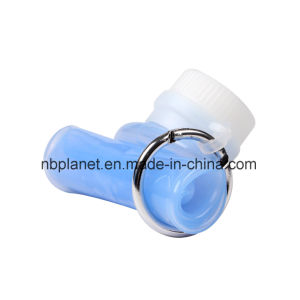 Foldable Plastic & Silicon Water Bottle pictures & photos