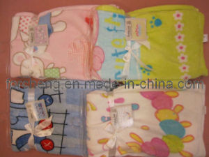 Coral Fleece Baby Printed Blankets
