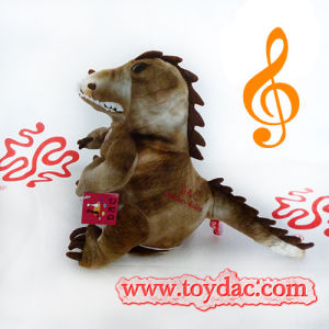 Plush Musical Dinosaur