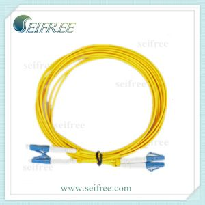 LC Duplex Fiber Optic Cable Patchcord (CATV Telecom) pictures & photos