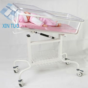 Factory Direct Price Hospital Stainless Steel Baby Nursing Trolley pictures & photos