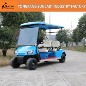 Hot Selling and New Design Electric Vehicle 4 Seater Electric Golf Cart with Ce Certificate