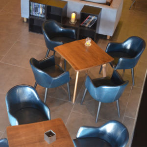 (SP CS347) Uptop Commercial Wood Lobby Coffee Shop Furniture Tables And  Chairs