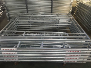 Galvanized American Type Walk Through Scaffolding Frame pictures & photos