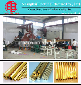 Horizontal Copper Rod/Pipe Continuous Casting Machine Production Line pictures & photos