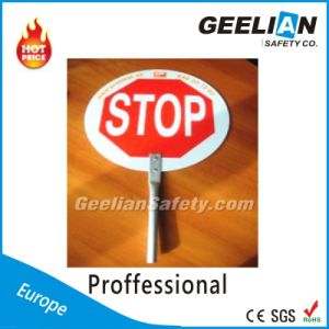 Reflective Road Traffic Sign for Safety (Solar Traffic Warning Sign)