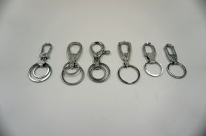 Simple Design Keychains, Metal Keyring Wholesales pictures & photos
