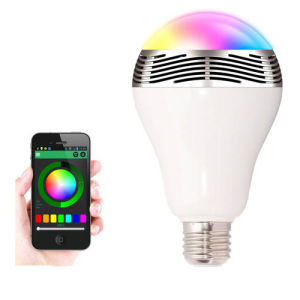 Newest Round E27 Dimmable 100-240V AC Best Bluetooth Bulb pictures & photos