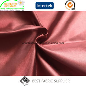 100% Polyester Shiny Thin Soft 210t Trilobal Lining Lady′s Garment Lining pictures & photos