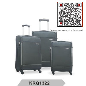 Hotsale 4wheels Nylon Soft Luggage (KRQ1322) pictures & photos