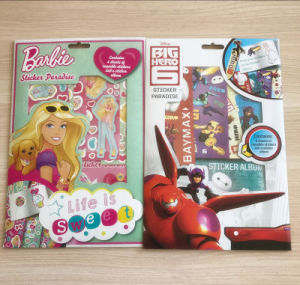 China Customized Reusable Stickers And A Sticker Album For Children